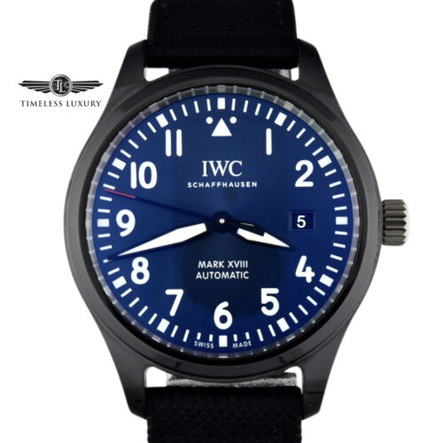 IWC Pilot Mark XVIII Laureus Sport for good foundation