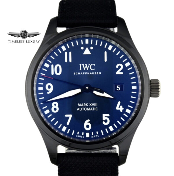 IWC Pilot Mark XVIII Laureus Sport for good foundation