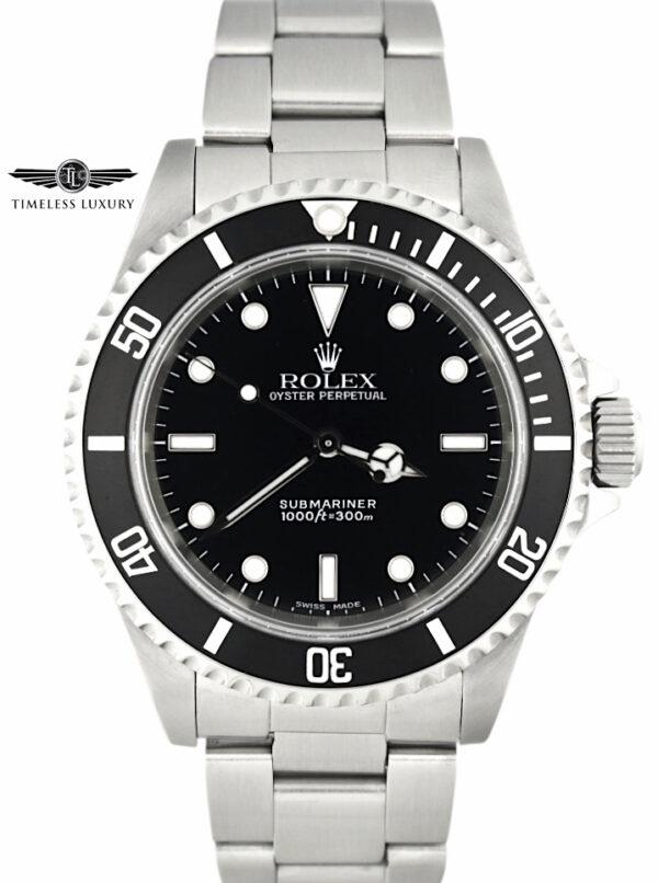 2000 Rolex submariner 14060 600x806 - Rolex Submariner