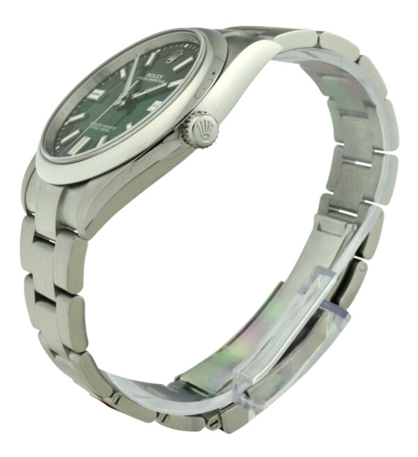 Rolex oyster perpetual 41 124300 green