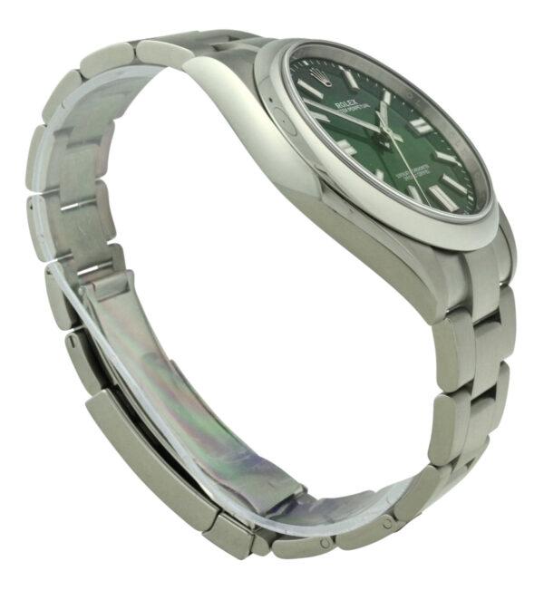 Rolex 124300 green dial