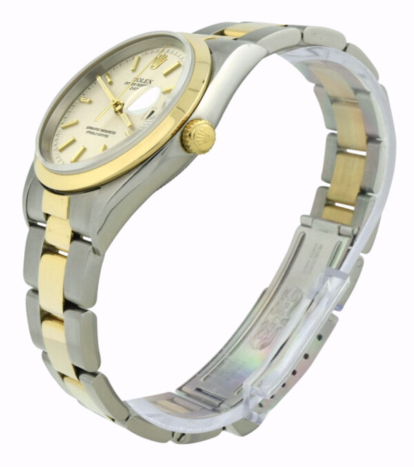 Rolex oyster perpetual date 34mm 15203