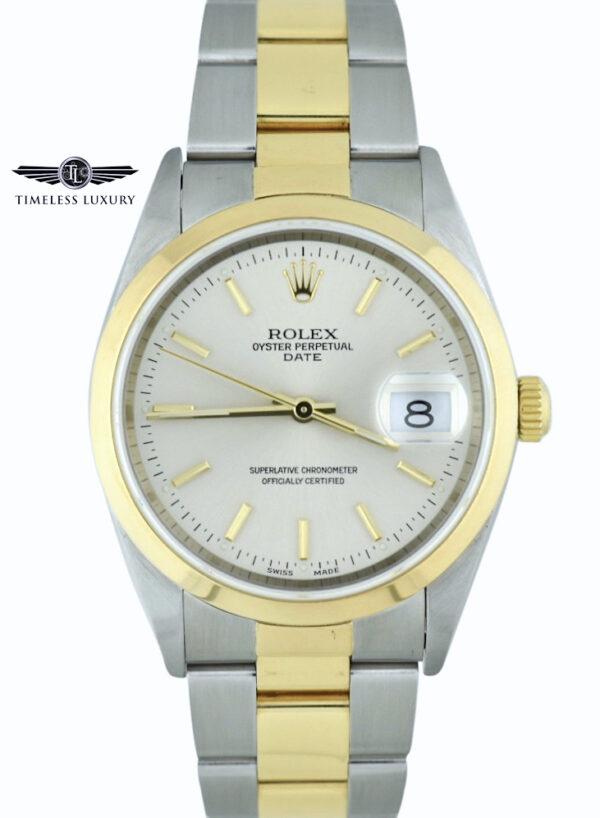 Rolex Oyster Perpetual Date 15203