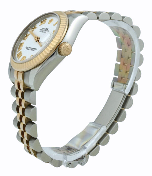 Ladies Rolex datejust midsize rose gold
