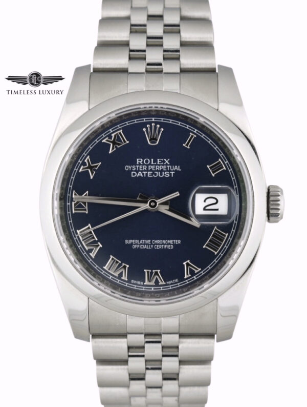 Rolex Datejust 116200 blue dial