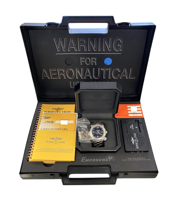 2008 Breitling Emergency Titanium E76321 For sale