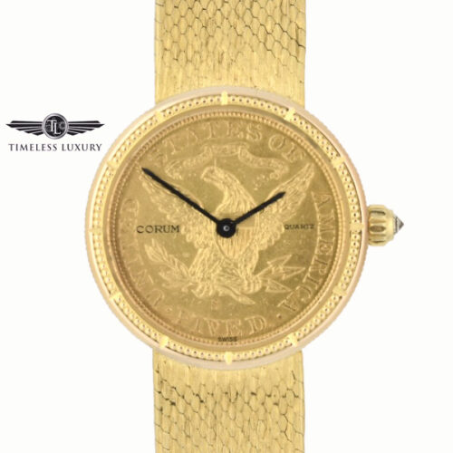 Ladies Corum $5 Gold Coin Watch