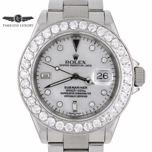 Rolex Submariner Diamond Watch 16610