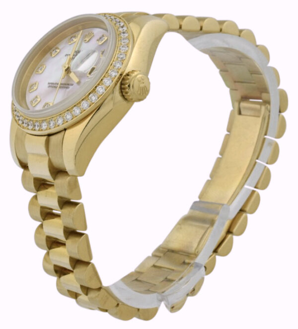 Ladies Rolex president 179138 mother of pearl dial