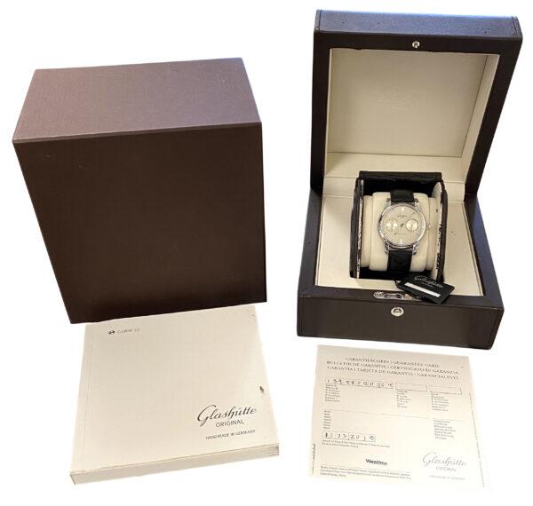 Glashutte Senator Hand date 1-39-58-02-02-04 for sale