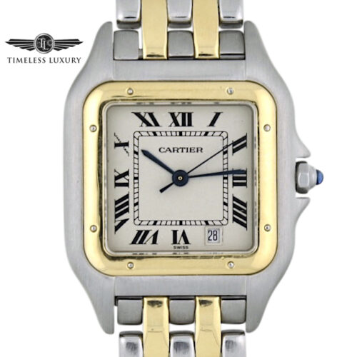 Ladies Cartier Panthere Midsize 27mm quartz watch
