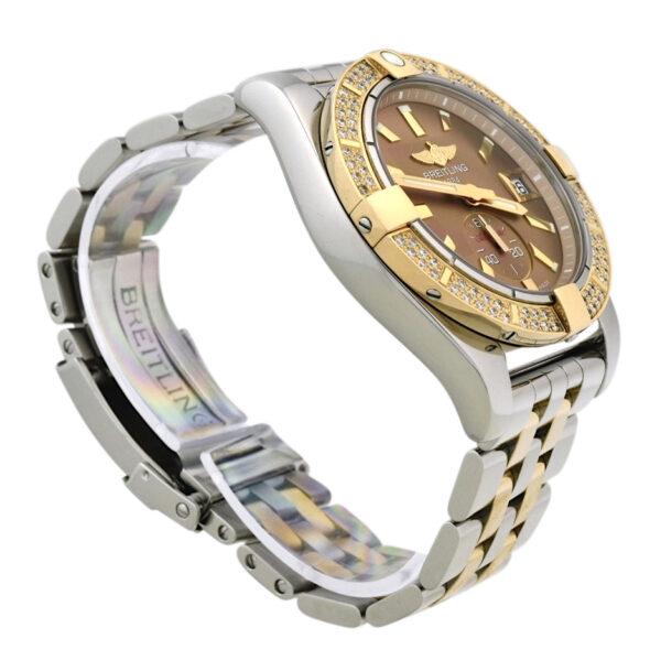 Breitling C37330 Diamond bezel watch