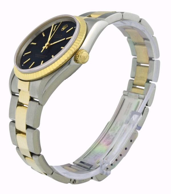 Rolex 14233 blue dial
