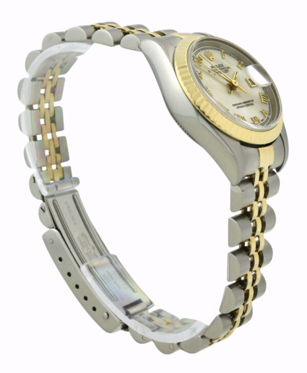 Ladies Rolex datejust mother of pearl dial