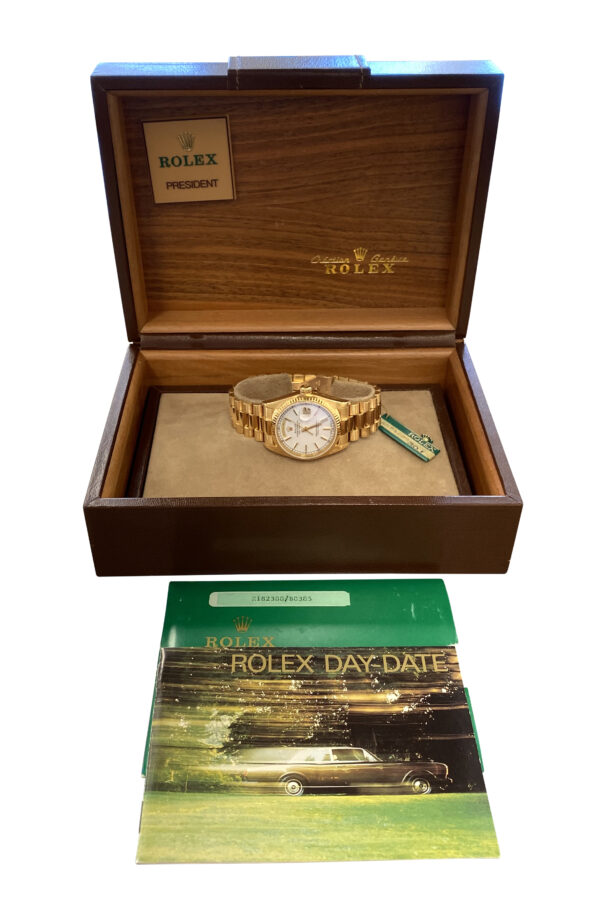1980 Rolex President 18038 for sale
