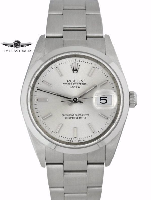 2004 Rolex Oyster Perpetual date 15200