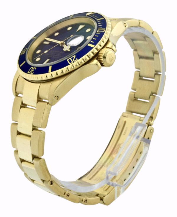 Rolex Submariner 16618 18k Yellow Gold