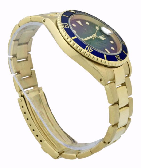 Rolex Submariner 16618 Blue Dial