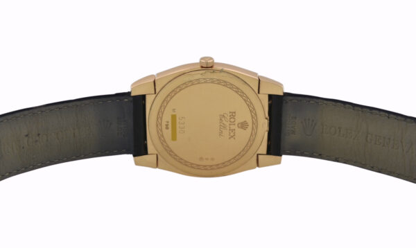 Rolex Cellini 5330 case back