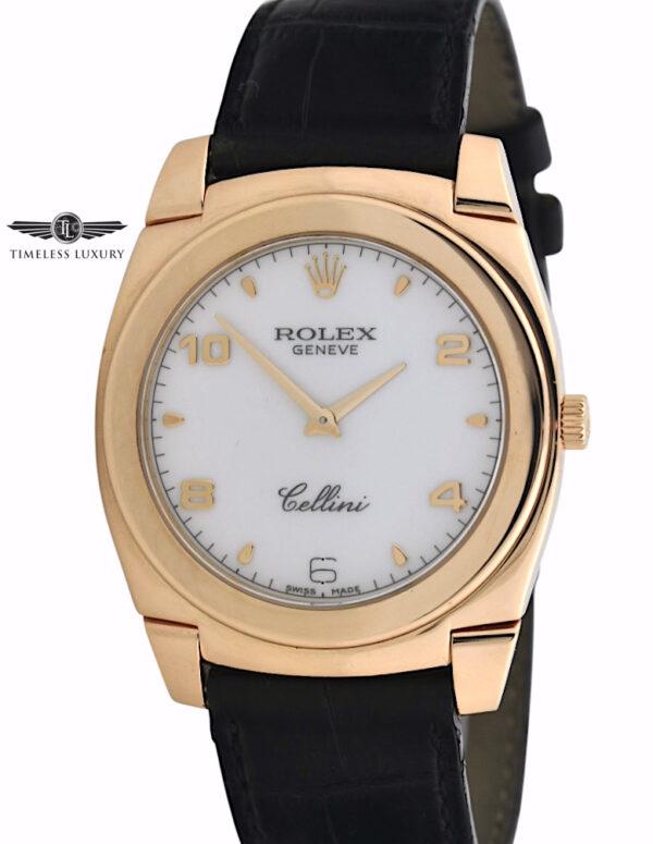 Rolex Cellini Cestello 5330 rose gold for sale