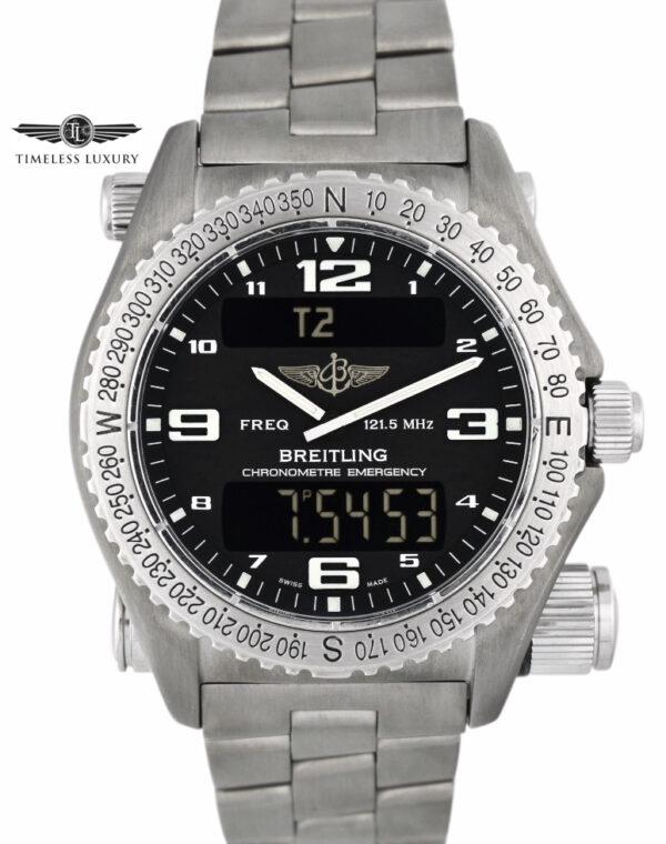 Breitling Emergency e76321 black dial