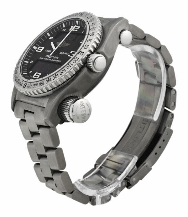 Breitling Emergency E76321 Black dial watch
