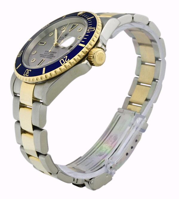 Rolex Submariner 16613 slate serti dial