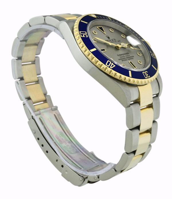 Rolex Submariner slate serti dial