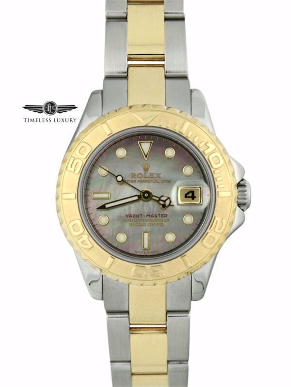 Ladies Rolex Yacht-Master 169623 Black MOP Dial
