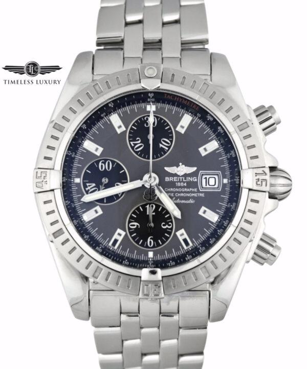 Breitling Chronomat evolution a13356 grey dial