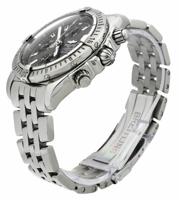 Breitling chronomat evolution grey dial