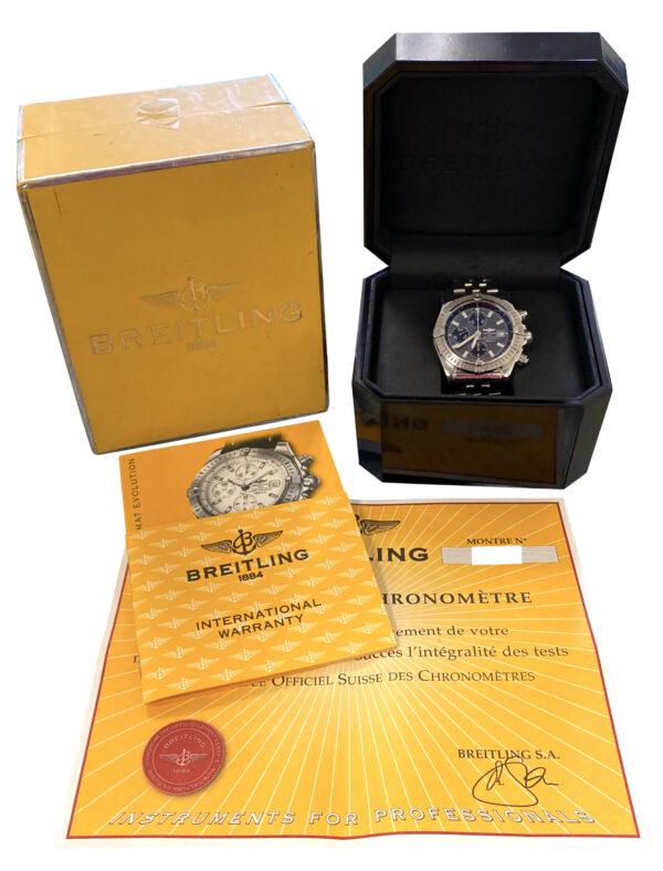 Men's Breitling Chronomat evolution A13356 for sale