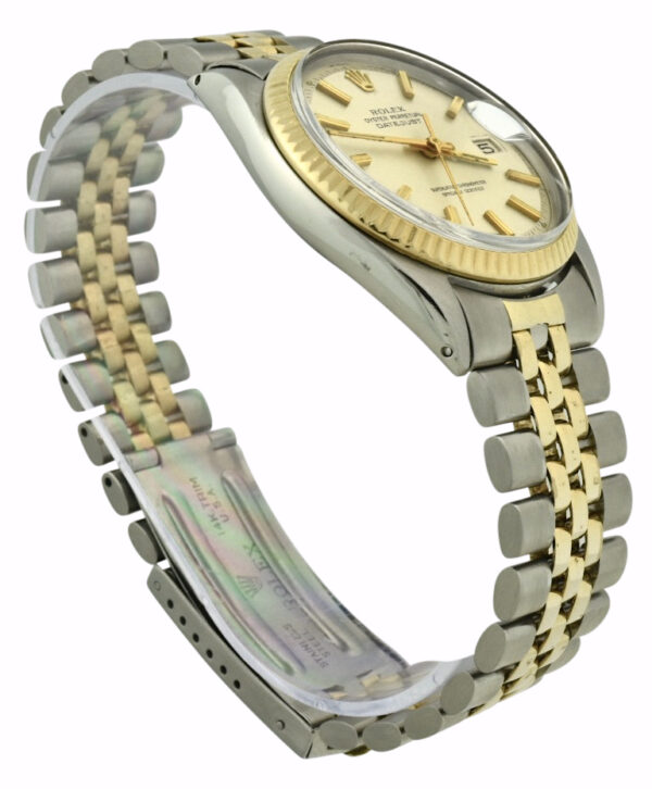 Rolex 1603 datejust silver dial