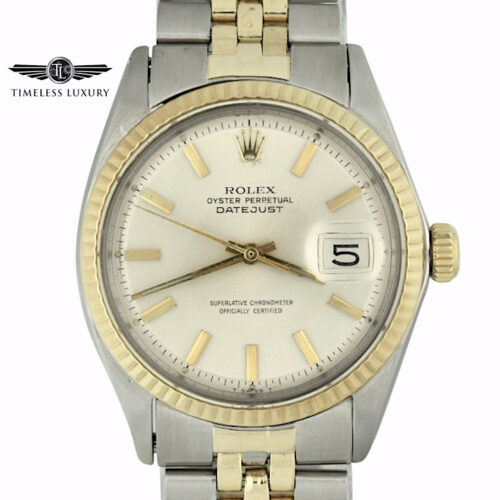 1970 Rolex Datejust 1603 Steel & gold