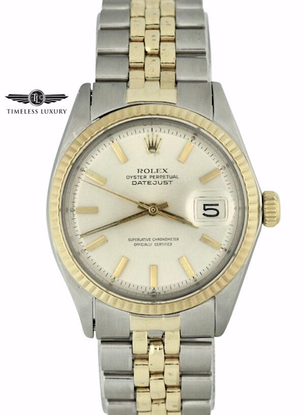 1970 Rolex Datejust 1603 Steel & gold