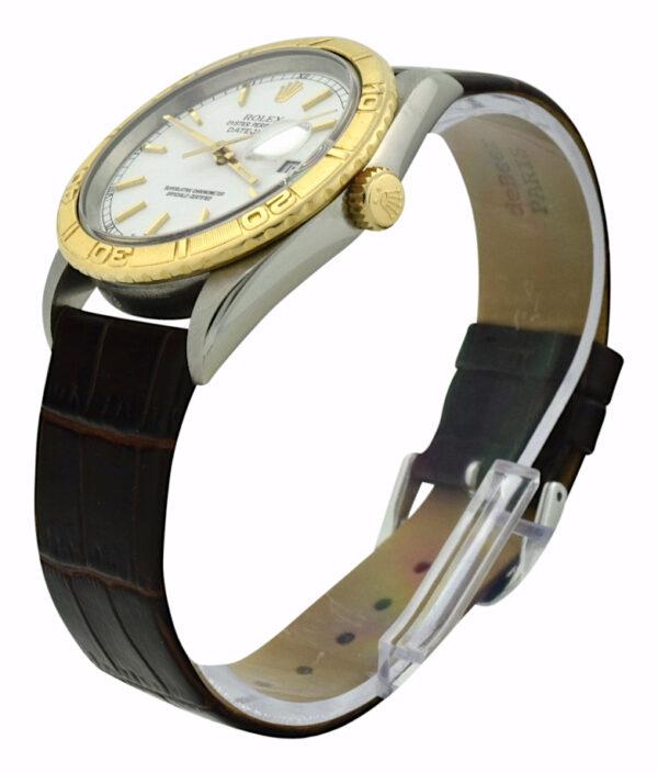 Rolex Turn-O-Graph 16263 white dial