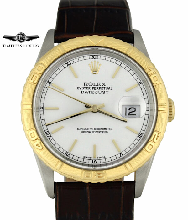 2001 Rolex Turn-O-Graph 16263 steel & 18k gold