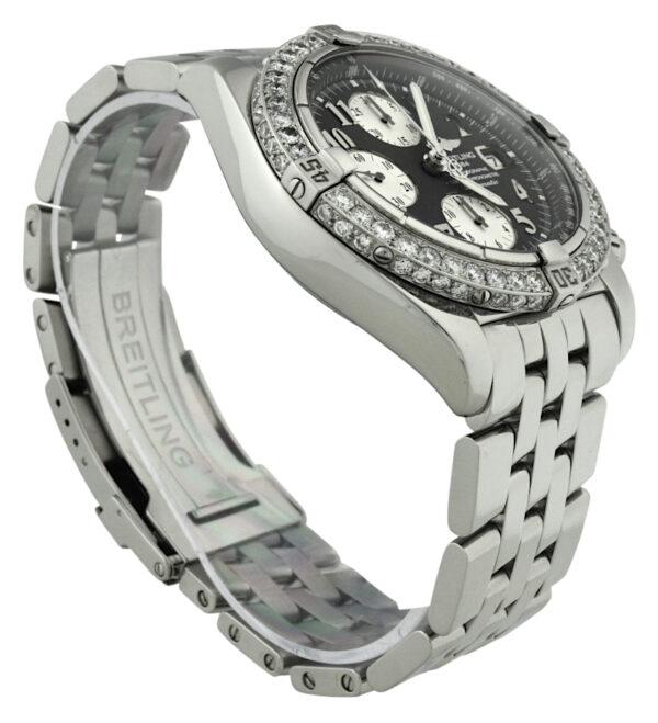 Breitling a13356 diamond watch