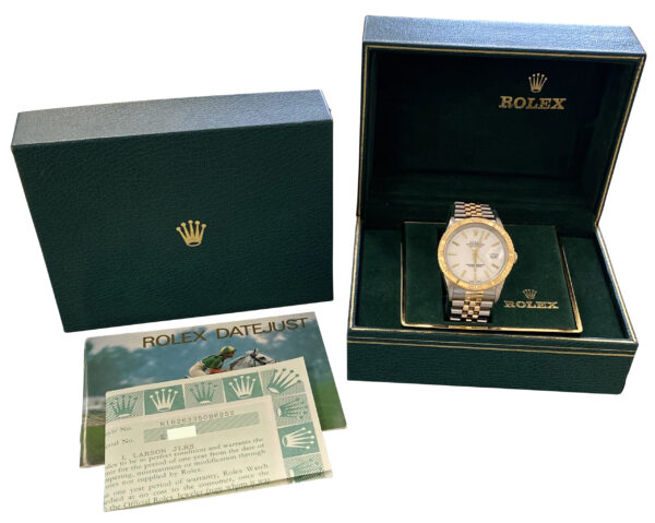 1990 Rolex Datejust Turn-O-Graph 16263 for sale