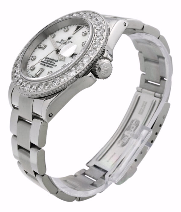 Custom Rolex submariner diamond watch