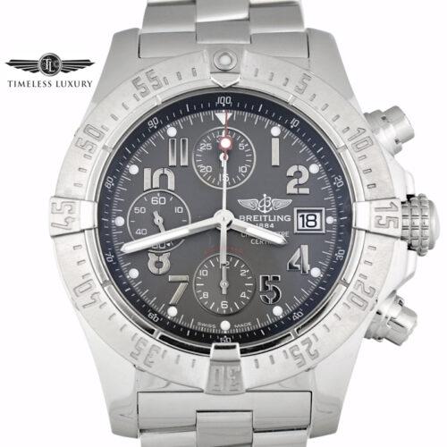 Breitling Skyland Avenger A13380 Grey Dial