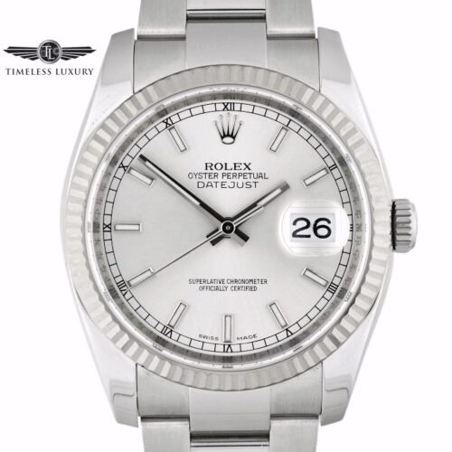 Rolex Datejust 116234 Silver dial 36mm