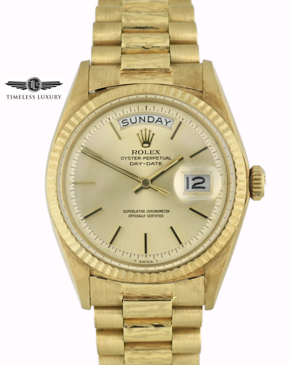 1968 Rolex Day-Date President 1803 box and papers