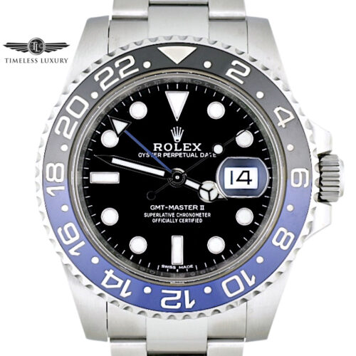 2018 Rolex GMT Batman 116710BLNR for sale
