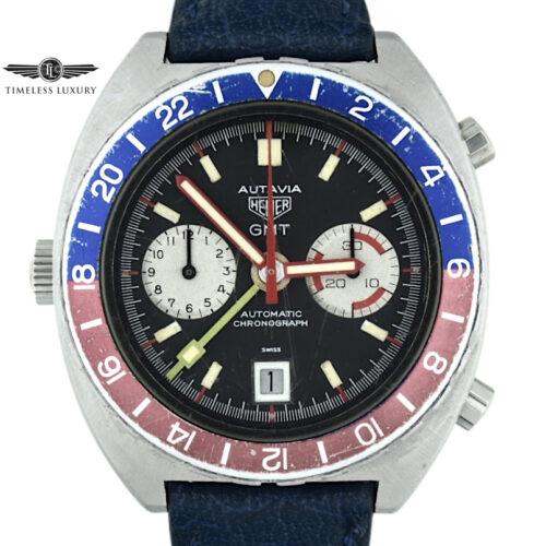 Vintage Heuer Autavia GMT 11630