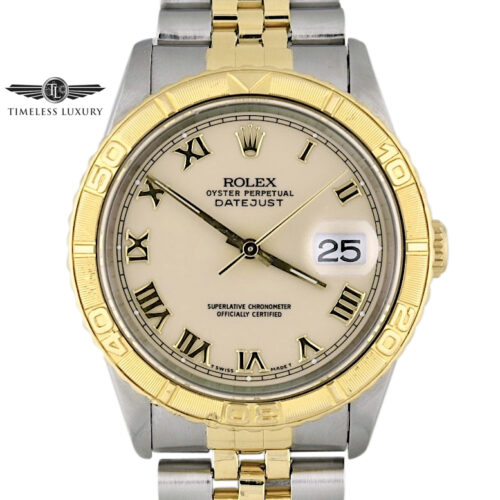 Rolex Turn-o-graph 16263 ivory dial