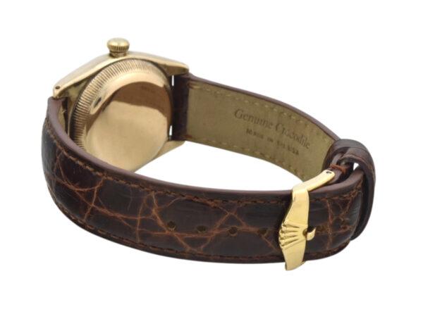 Rolex bubble back 3372 gold clasp