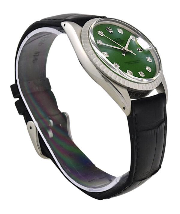 Rolex datejust green dial