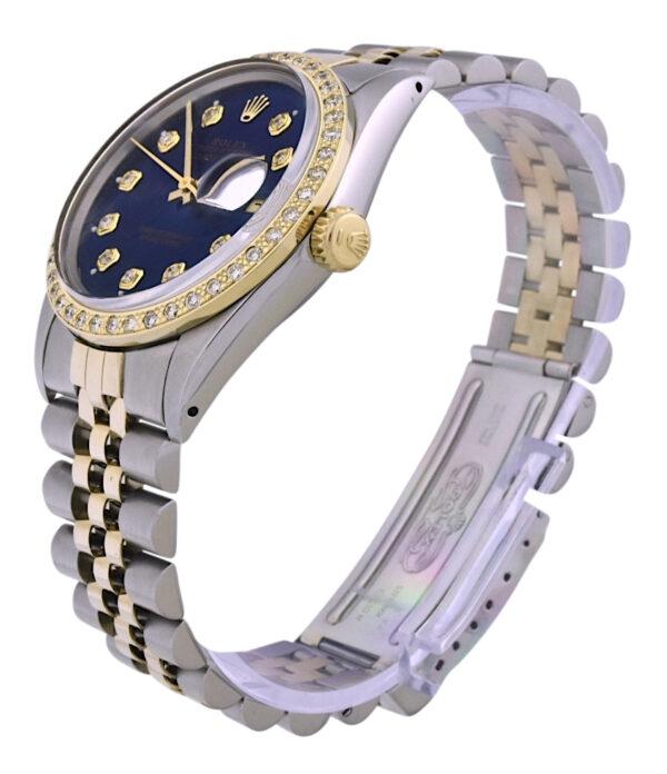 Rolex datejust 16013 diamond bezel
