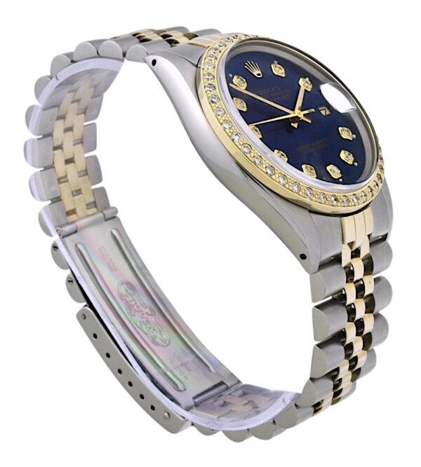 Rolex datejust 16013 blue dial